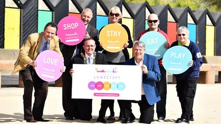 Launch of Discover Lowestoft, an online campaign to promote business in Lowestoft. Picture: James