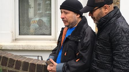 Samer Sidhom urged anyone with information to come forward to help track down whoever killed his son