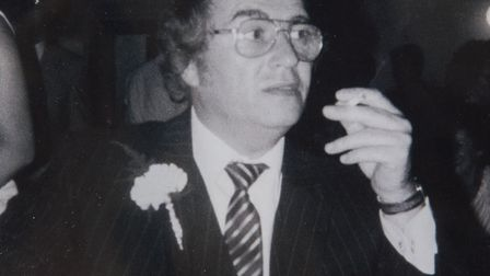 Victor Farrugia of East Ham was a victim of the contaminated bloods scandal. Picture: Nigel Sutton