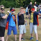 The Superhero Fun Run is returning to Raphael's Park this May. Picture: Gemma Bull
