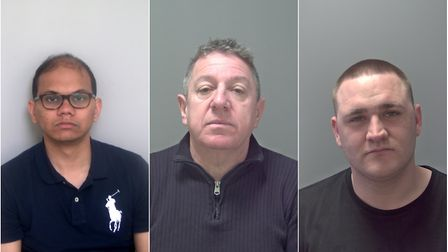 Muhammad Tanveer, Barry Spearing and Shaun Cross conned vulnerable people out of nearly £3million. P