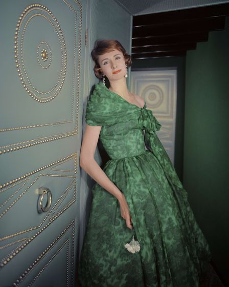 A photograph taken by Anthony Denney which was featured in the March 1958 edition of Vogue. Picture: