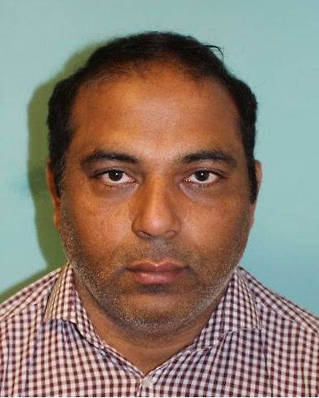 Babar Hussain of Caulfield Road, East Ham, was jailed for five years and four months. Picture: NCA