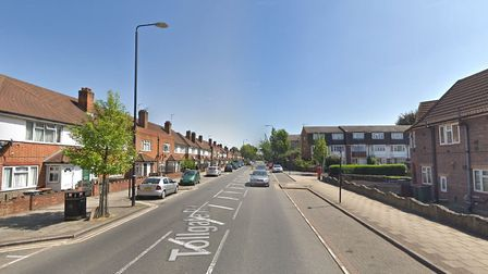 Police and ambulance crews found a 17-year-old boy with stab wounds on Tollgate Road, Beckton. Pictu