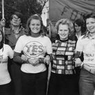 Then opposition leader Margaret Thatcher lends her support to 'Keep Britain in Europe' campaigners i