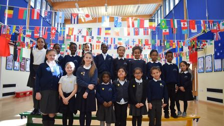 Curwen Primary School in Plaistow celebrated their cultural diversity with an array of events for In