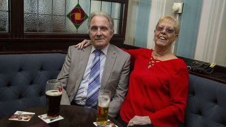 Steve Turvey and Brenda Turvey enjoying the last day of the East Ham Working Men's club. Picture by