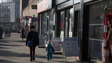 Barkingside High Street had emission readings higher than advised, a group has claimed. Picture: Ell