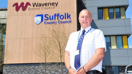 Official opening of the new Riverside building for Waveney and Suffolk council.Phil Aves.