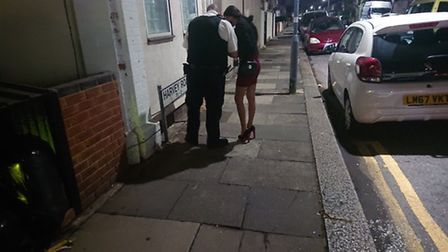 Police conduct regular patrols of Ilford Lane and the surrounding streets. Picture: Ellena Cruse
