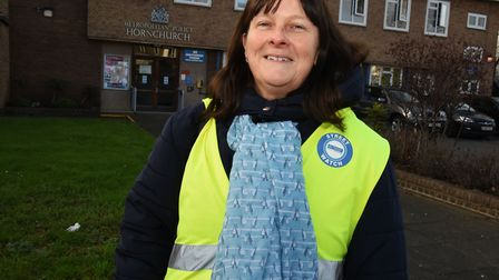 Sally Miller of Havering Streetwatch