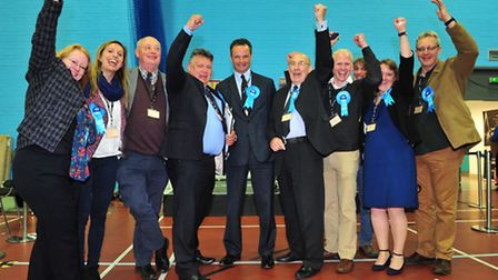 Conservative candidate Peter Aldous is the new MP for Waveney.