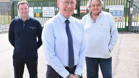 Lowestoft company Polgain who is looking to expand into premises where AKD Engineering was based in