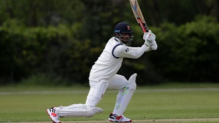 Feroze Khushi top scored with 40 for Wanstead & Snaresbrook at Brentwood (pic: Gavin Ellis/TGS Photo