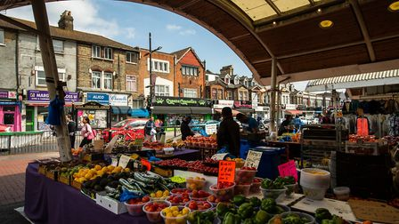 The council wants to hear from residents on the future of Green Street, including Queens Market (pic