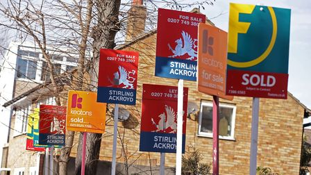 It takes on average 17 weeks to sell a house in Havering. Picture: PA