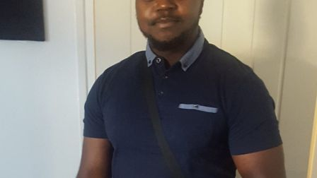Aron Kato was last seen being pushed into a car in Ilford. Picture: Met Police