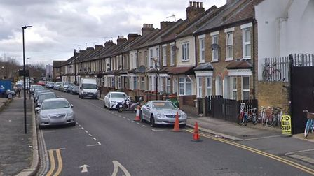 Police believe the man was stabbed in Newhaven Lane before making his way to Barking Road. Picture: