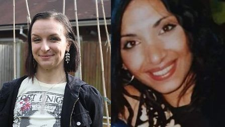 Henriett Szucs and Mary Jane Mustafa, whose bodies were found in a freezer in Custom House. Pictures