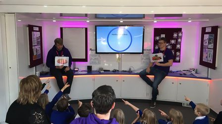 The National Deaf Childrens Society roadshow visited Barking last year. Pic: The National Deaf Chil