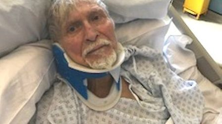 Ahmet Dobran, 82, who was robbed in East Ham. Picture: MPS