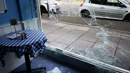 Jackson's Cafe, High Street, Romford, has been broken into again. Picture: Tracey Brennan