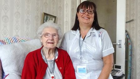 Tapestry's homecare team provide support 7am to 10pm, 7 days a week. Picture: Tapestry