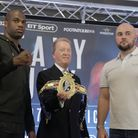 Daniel Dubois will defend his British heavyweight title against Nathan Gorman on July 13 (pic: Natal