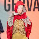 Work by UEL student Sara Gervasoni at Graduate Fashion Week. Picture: Simon Armstrong.