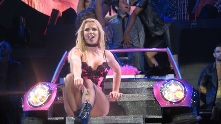 Britney Spears superfan, Keith Collins, took pictures of Britney Spears on her UK tour in 2011. Pict