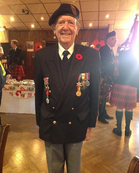 Ron Wilson, 94, took part in the first wave of the D-Day landings 75 years ago today. Picture: Wilso