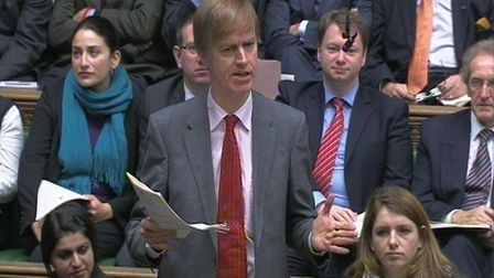 Stephen Timms speaking in the House of Commons. Picture: PA