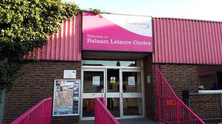 The Balaam Leisure Centre in Plaistow remains closed. Picture: Ken Mears
