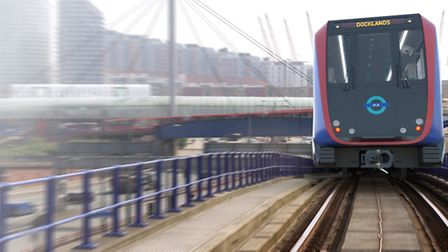 The new DLR trains. Picture: TfL