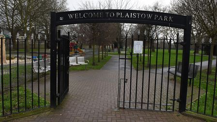 Steven Kennedy was attacked in Plaistow Park. Picture: Ken Mears