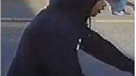One of the males wanted in connection with a stabbing in Canning Town on Friday, July 12. Picture: M