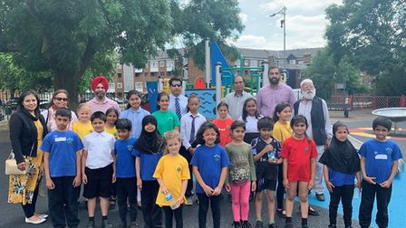 Leader of the council, Councillor Jas Athwal, was joined by deputy leader, Councillor Kam Rai, local