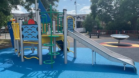 £120,000 was allocated to Loxford Park for the new play equipment. Picture: Redbridge Council