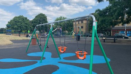 Loxford Park is the latest to benefit from the council's £1.6m pot dedicated to upgrading parks acro