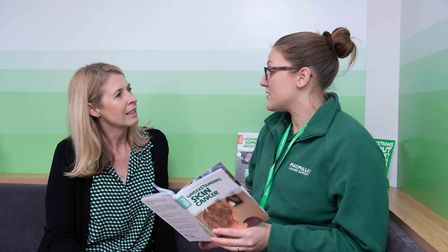 Specialists will be on-hand to answer all questions when the Macmillan Cancer Support mobile informa