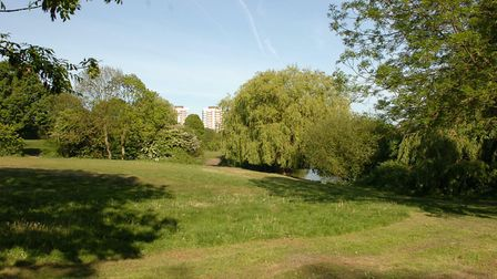 Harrow Lodge Park was created in the 1930s for the new Elm Park suburb. Picture: John Hercock