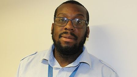 Michael Magbagbeola, from BHRUT's people and organisational development team, has organised the two