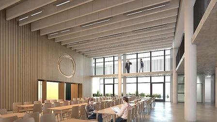 Artist's impression of the new Oasis Academy Silvertown building. Picture: Oasis