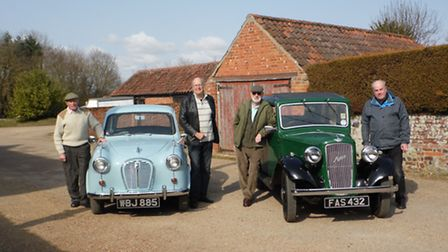 Jeff Wood with members of the LCVC. Pictures: Supplied
