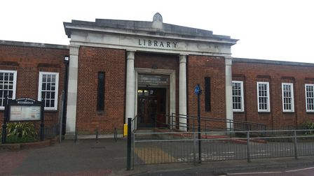 A new library hub will be built in Gants Hill. Picture: Ken Mears