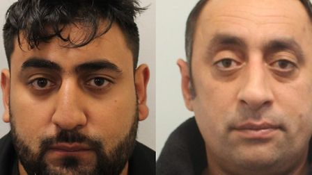 Valentin and Grigore Lupu were jailed for 10 years each. Pictures: Met Police
