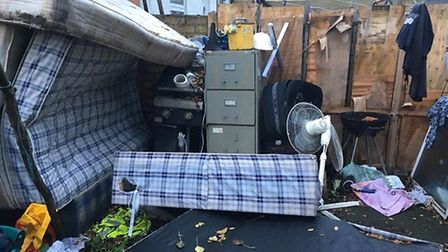 Police released this picture of the property in Wellesley Road. Pictuire: Met Police