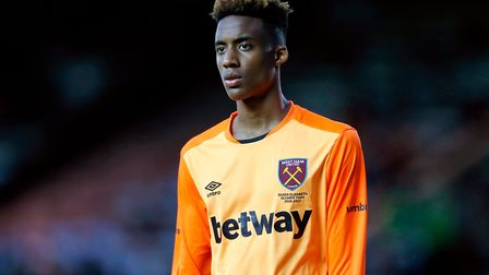 West Ham United goalkeeper Nathan Trott