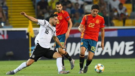 Pablo Fornals of Spain