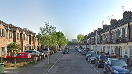 Police were called to Fernhill Street, North Woolwich in the early hours of the morning. Picture: Go